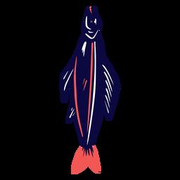 Large fish duotone