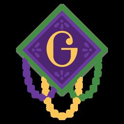 Guirnalda de letra g