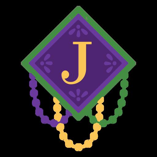 Letter j garland Transparent PNG