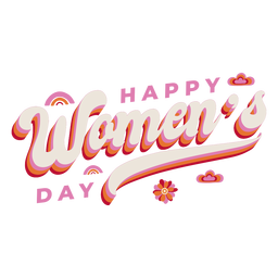 Rotulação feliz dia das mulheres