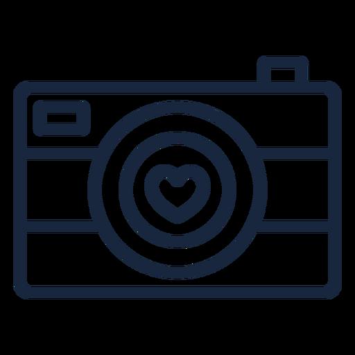 Love camera stroke
