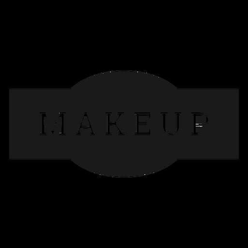 Makeup label