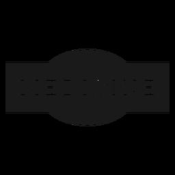 Etiqueta de la medicina