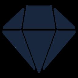 Icono de diamante rosa azul