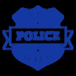 Letras de oficial de esposa de policía orgulloso