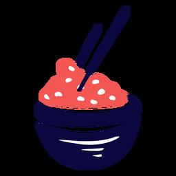 Rice duotone