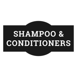 Shampoo and conditioners label