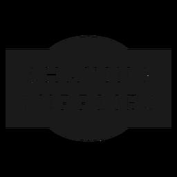 Etiqueta de suministros de afeitado