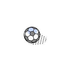 Soccer ball isometric