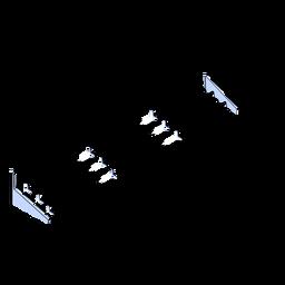 Soportes isométricos