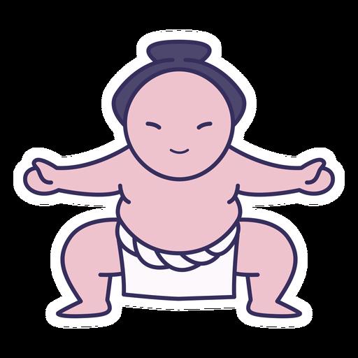 Sumo sticker