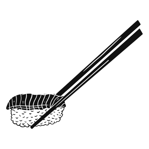 Sushi black and white Transparent PNG