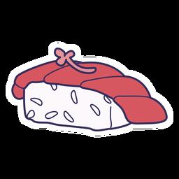 Pegatina sushi