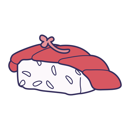 Sushi sticker Transparent PNG