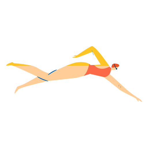 Swimmer character