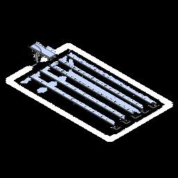 Pistas de piscina isométricas