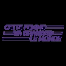 Esta mujer cambiará las letras francesas del mundo