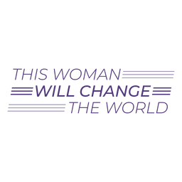 Esta mujer cambiará las letras del mundo.