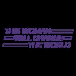 Esta mulher vai mudar as letras do mundo