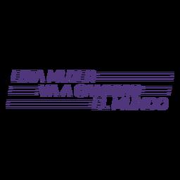 Esta mulher vai mudar o mundo das letras em espanhol