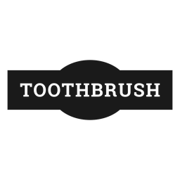 Toothbrush label