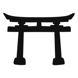 Torii silhouette