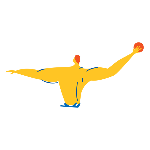 Waterpolo player character Transparent PNG