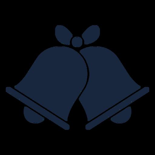 Wedding bells blue icon Transparent PNG