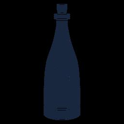 Icono de boda champagne azul