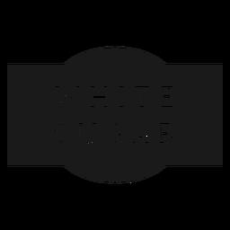 White sugar label