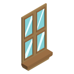 Window isometric