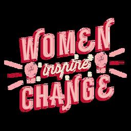 Mulheres inspiram mudança de letras