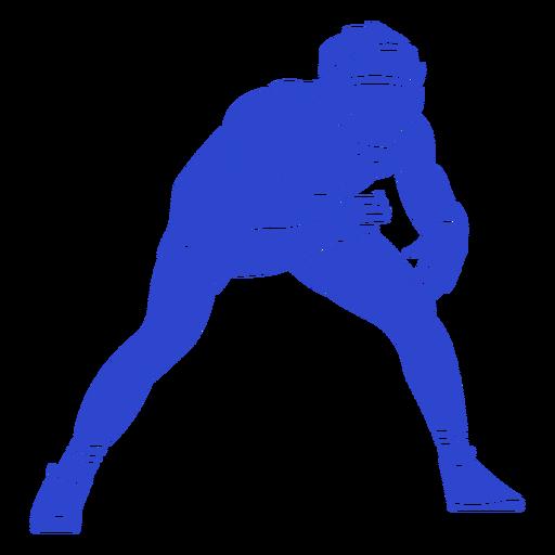 Wrestler blue
