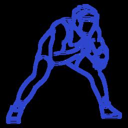 Wrestler stroke