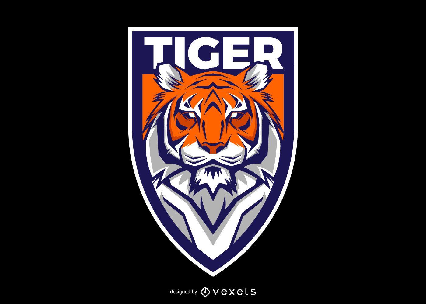 Tiger Shield Logo Design