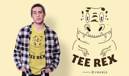 Design de camiseta Tee Rex