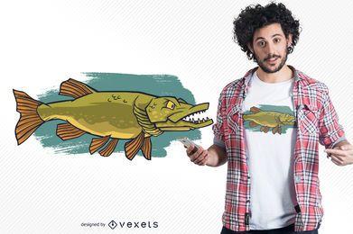 Design de camisetas do Northern Pike