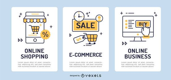E-Commerce-Banner-Set