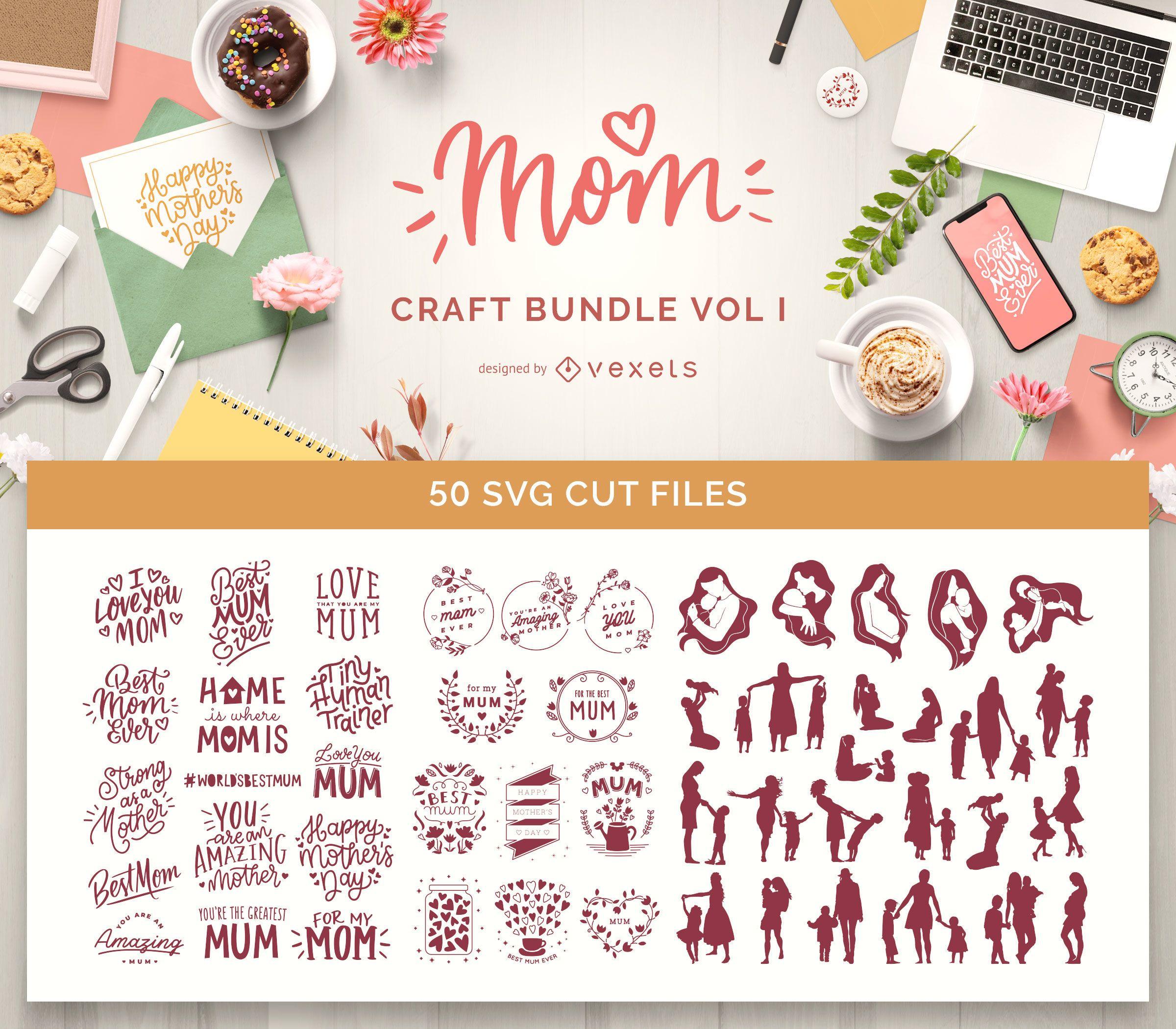 Paquete Mom Craft Vol I