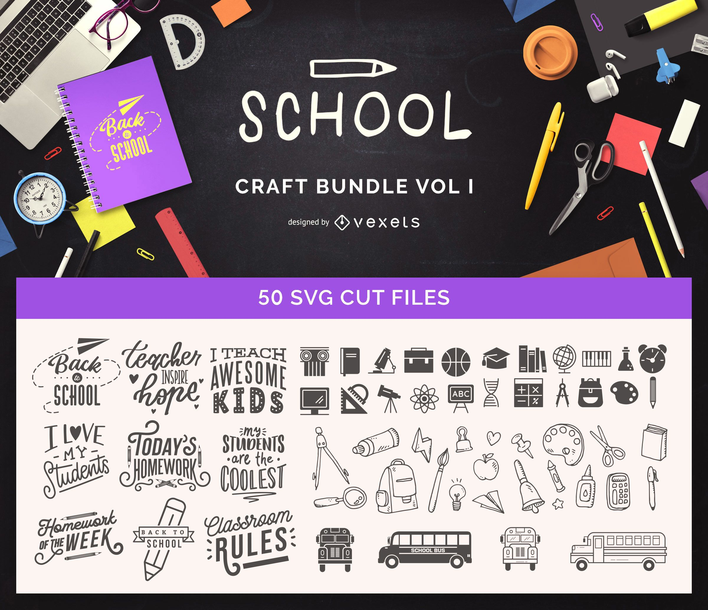 School Craft Bundle Vol I