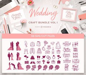 Wedding Craft Bundle Vol I