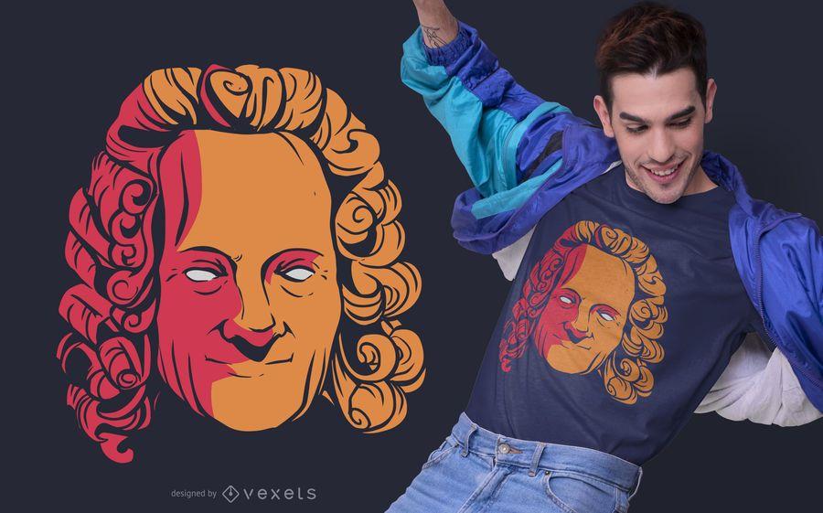 Voltaire Philosopher T-shirt Design