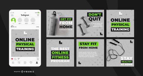 Online Workout Program Banner Pack