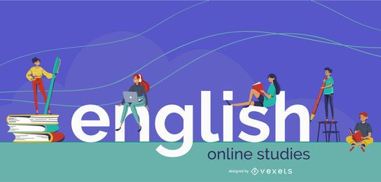 High School English Studies Cover Design