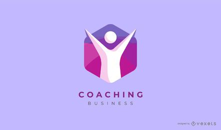 Diseño de logotipo de empresa de coaching