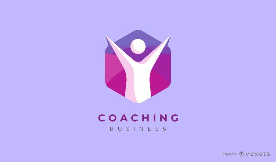 Design de logotipo de negócios de coaching