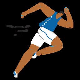 Personaje deportista