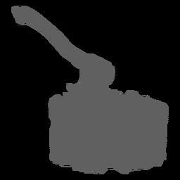 Axe firewood silhouette