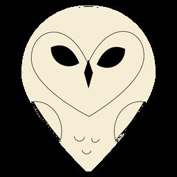 Barn owl flat