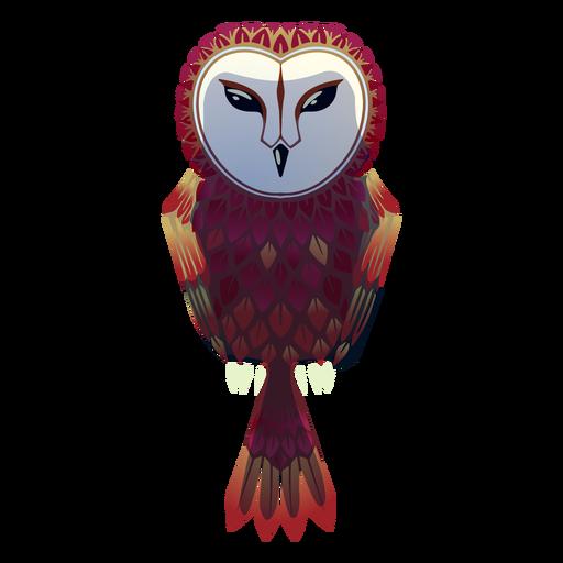 Barn owl illustration Transparent PNG